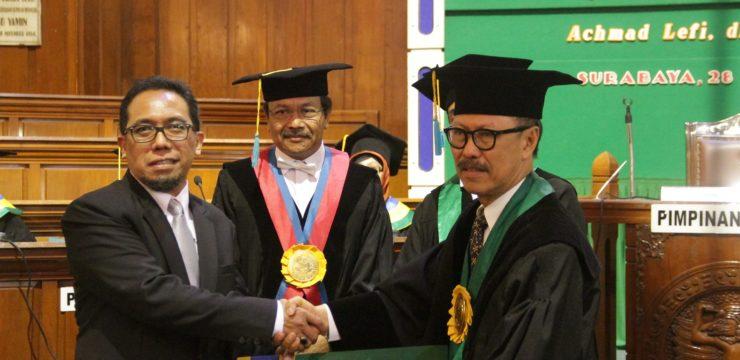 PENGUKUHAN DOKTOR dr. Achmad Lefi, SpJP(K) 28 Desember 2017